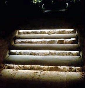 Strisce LED esterno Illuminazione Gradini